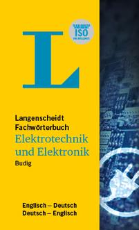 DE-EN / EN-DE Langenscheidt Fachwörterbuch Elektrotechnik und Elektronik