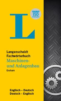 DE-EN / EN-DE Langenscheidt Fachwörterbuch Maschinenbau und Anlagenbau