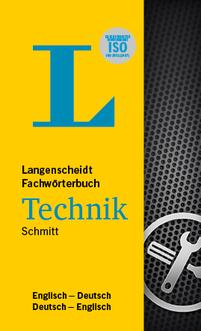 DE-EN / EN-DE Langenscheidt Fachwörterbuch Technik Englisch