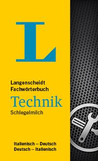 DE-IT / IT-DE Langenscheidt Fachwörterbuch Technik Italienisch