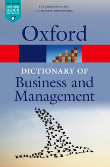 EN Oxford Dictionary of Business and Management