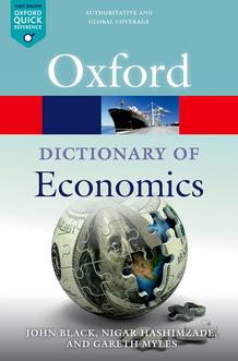 EN Oxford Dictionary of Economics
